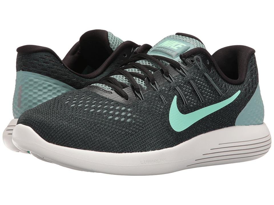 Nike Lunarglide 8 (Cannon/Black/Hasta/Green Glow) Men