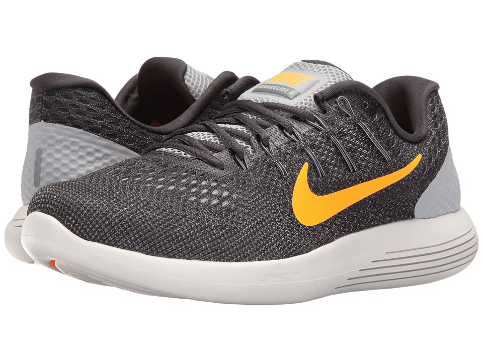 Nike Lunarglide 8 (Wolf Grey/Anthracite/Cool Grey/Bright Citrus) Men