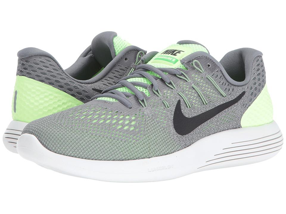 Nike Lunarglide 8 (Ghost Green/Cool Grey/Pure Platinum/Black) Men