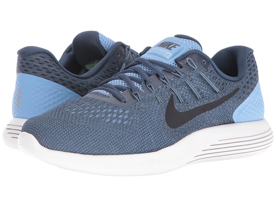 Nike Lunarglide 8 (Light Blue/Squadron Blue/Ghost Green/Black) Men