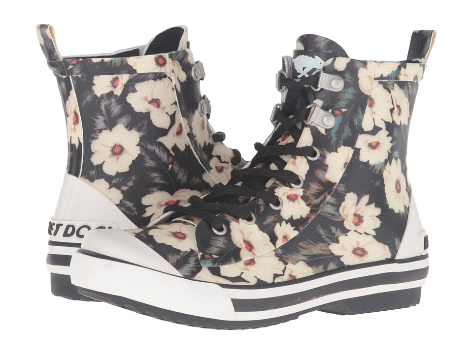 Rocket Dog - Rainy (Black Midnight Floral) Women