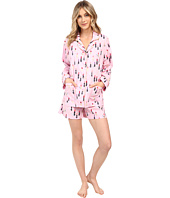 BedHead - Long Sleeve Shorty Bottom Pajama Set