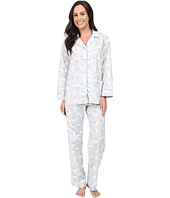 BedHead - Long Sleeve Notched Collar Pajama Set