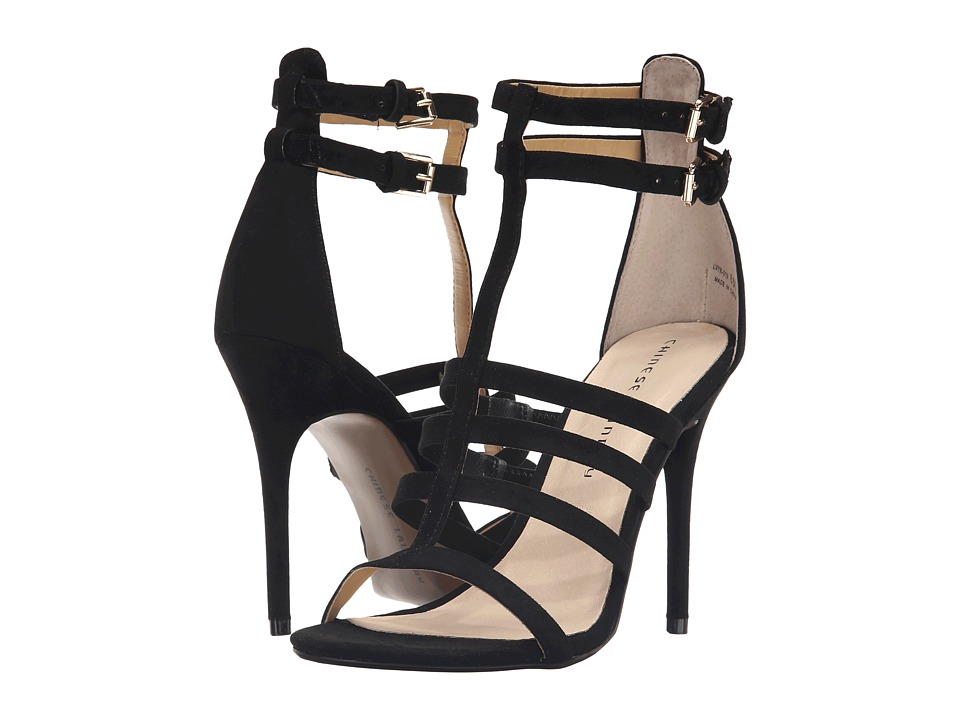 Chinese Laundry - Lacy (Black Micro Suede) High Heels
