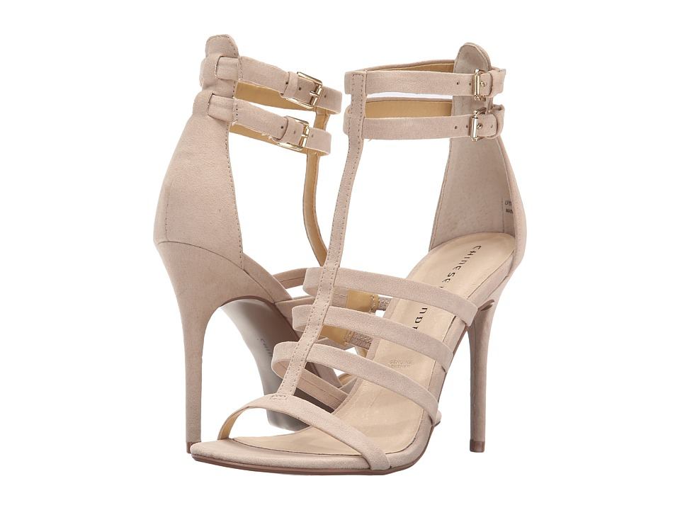 Chinese Laundry - Lacy (Sand Micro Suede) High Heels