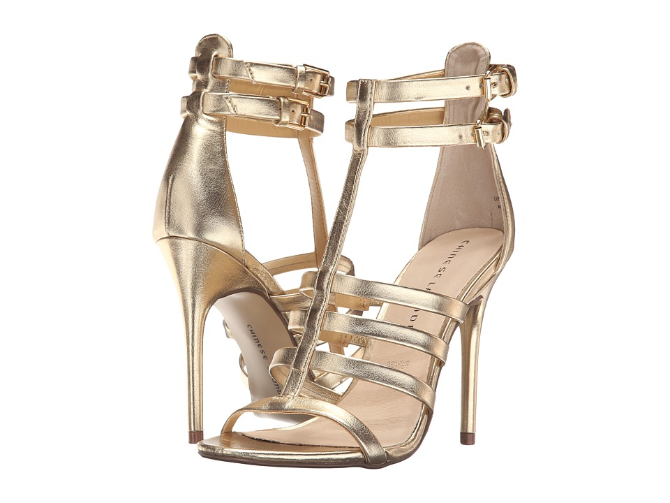 Chinese Laundry - Lacy (Gold Dazzle Metallic) High Heels