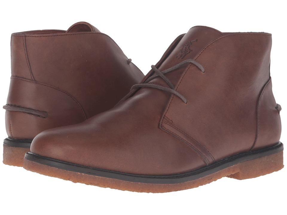 Polo Ralph Lauren Marlow (Dark Brown Leather) Men