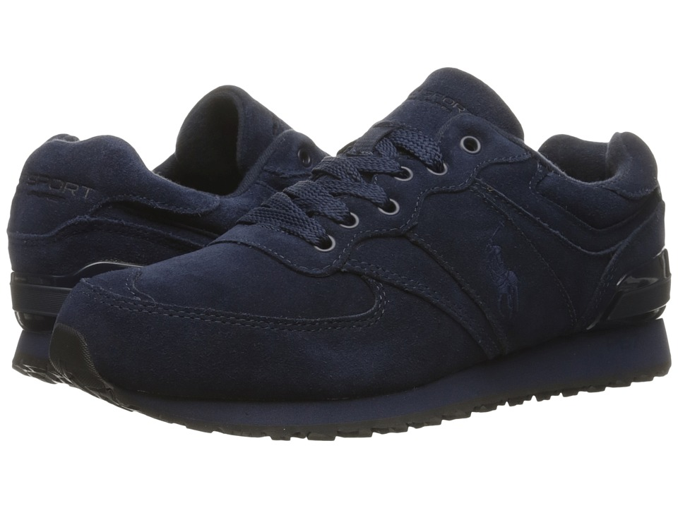 Polo Ralph Lauren Slaton Pony (Navy Sport Suede) Men