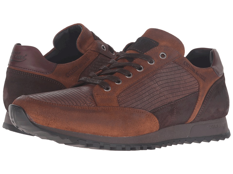 Cycleur de Luxe - Crossover (Dark Cognac/Coffee/Burgundy) Mens Shoes