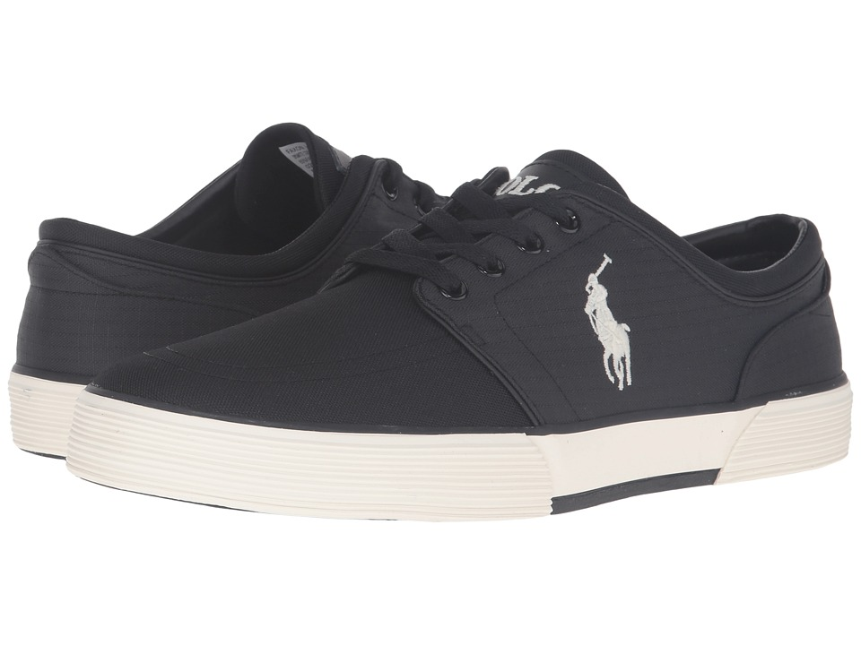 Polo Ralph Lauren Faxon Low (Black/Black Matte Cordura/Mini Matte Ripstop) Men