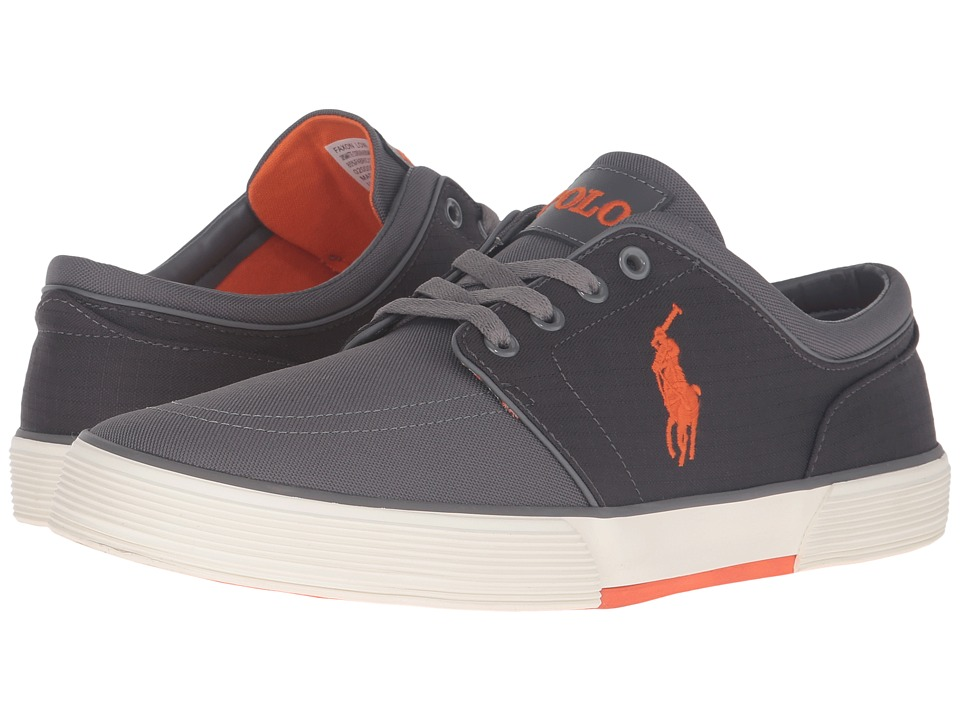 Polo Ralph Lauren Faxon Low (Charcoal Matte Cordura/Mini Matte Ripstop) Men