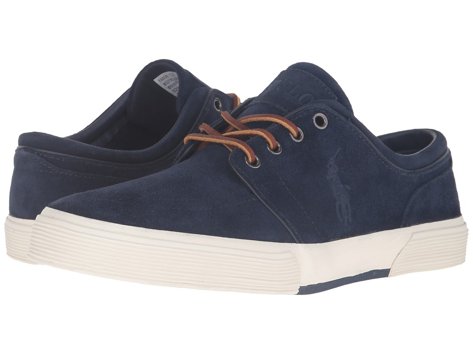 Polo Ralph Lauren Faxon Low (Newport Navy Sport Suede) Men