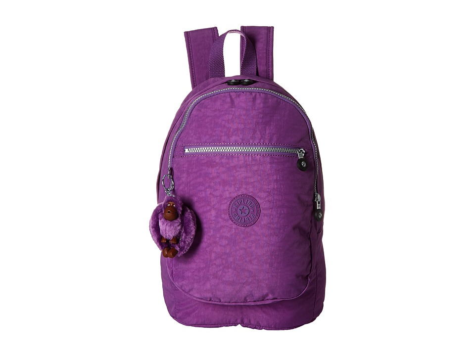 Kipling - Challenger II Backpack (Violet Purple) Backpack Bags