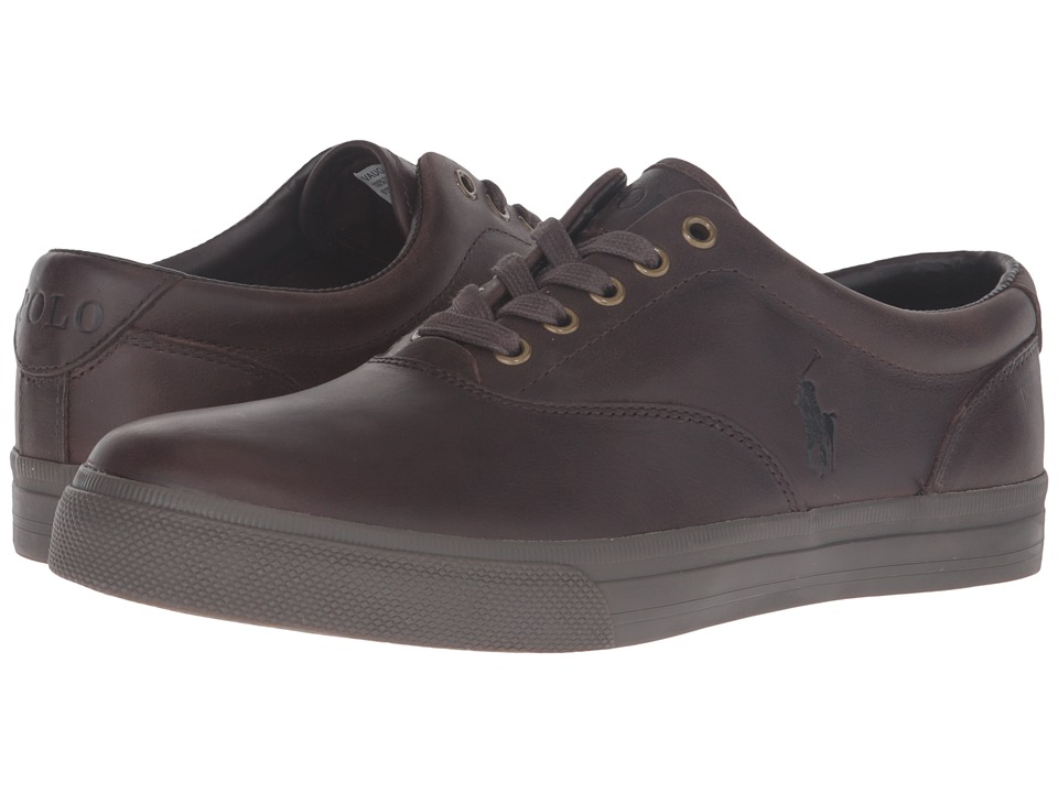 Polo Ralph Lauren Vaughn (Brown/Nicotine Smooth Oil Leather) Men