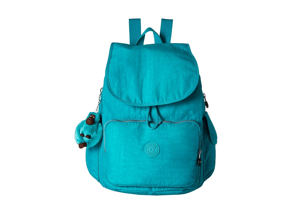 Kipling - Ravier Backpack (Cool Turquoise) Backpack Bags