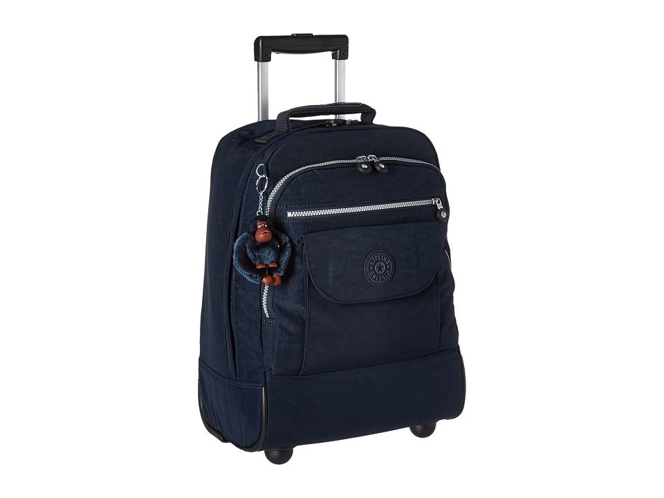 Kipling Sanaa Wheeled Backpack (True Blue) Backpack Bags