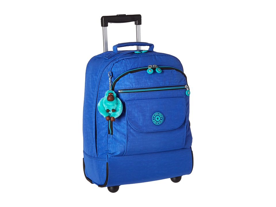 Kipling Sanaa Wheeled Backpack Sailor Blue Backpack Bags