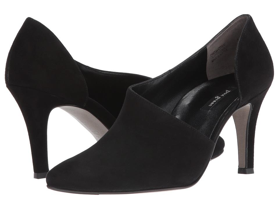 Paul Green Jazz (Black Suede) High Heels