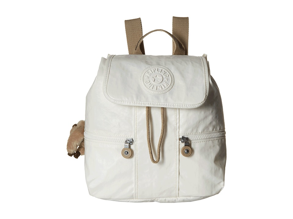Kipling Kieran Small Backpack Laquer Pearl Combo Backpack Bags