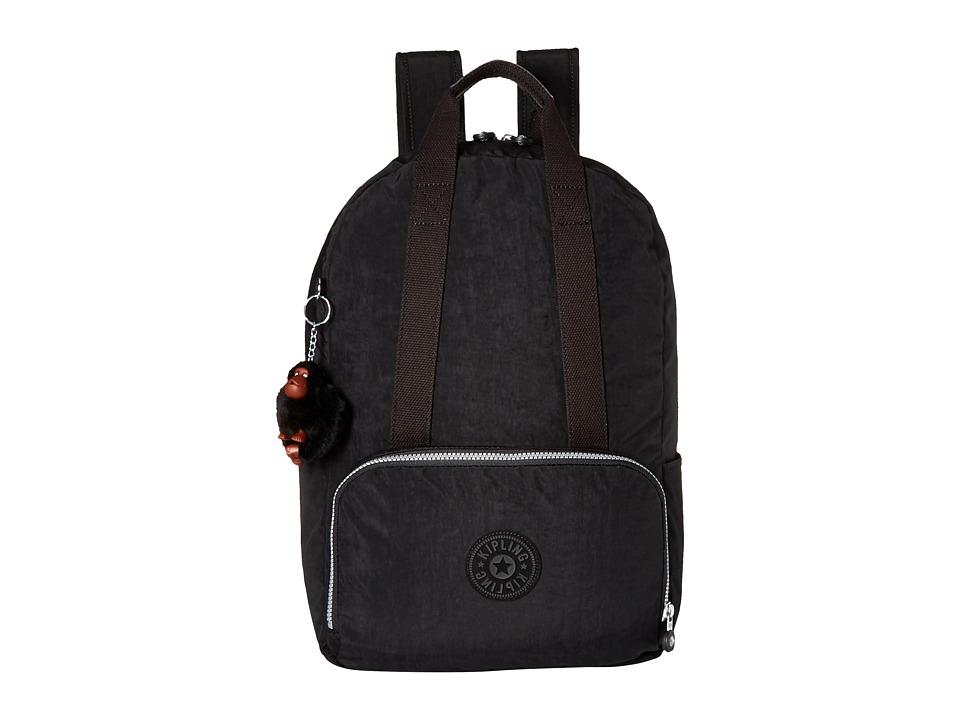 Kipling Pippin Backpack Black Backpack Bags