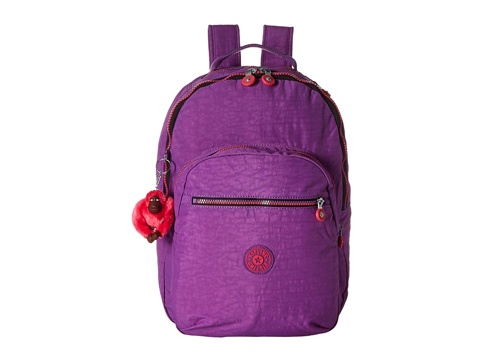 Kipling - Seoul Backpack with Laptop Protection (Violet Purple) Backpack Bags