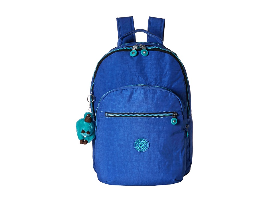 Kipling - Seoul Backpack with Laptop Protection (Sailor Blue) Backpack Bags