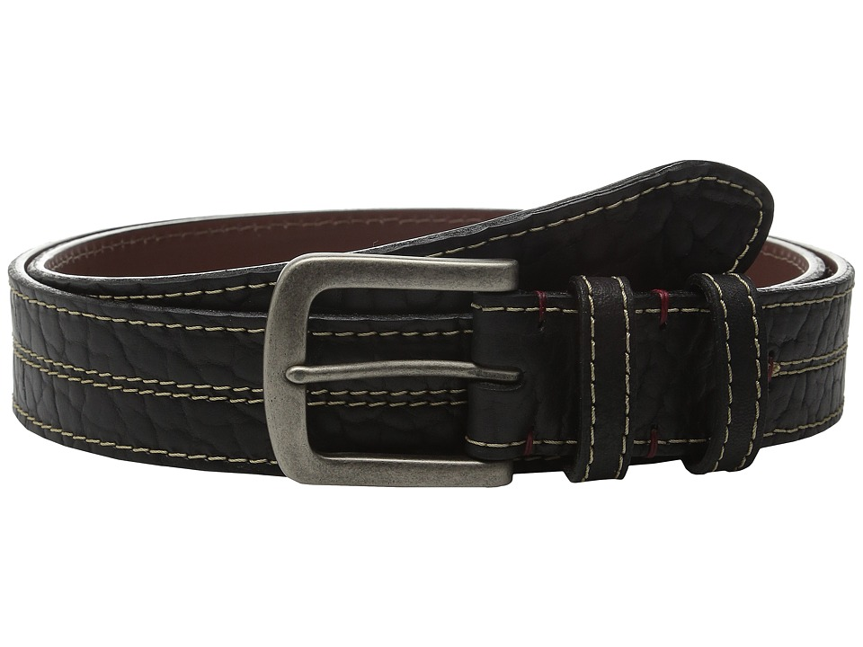 Torino Leather Co. - Oiled Shrunken American Bison (Black) Men