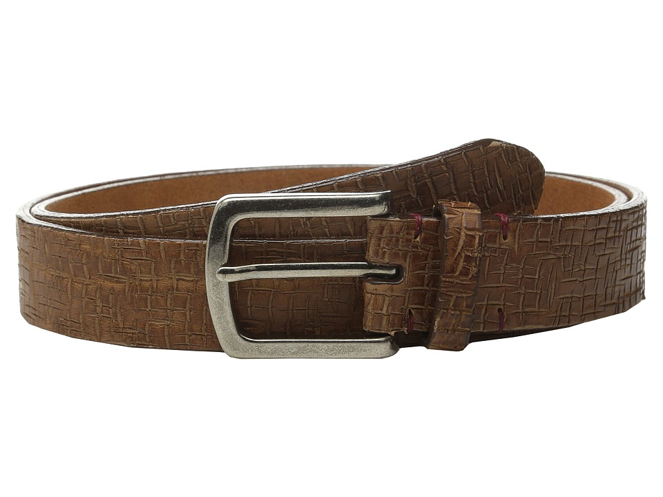 Torino Leather Co. - Italian Vintage Laser Etched Leather (Tan) Men