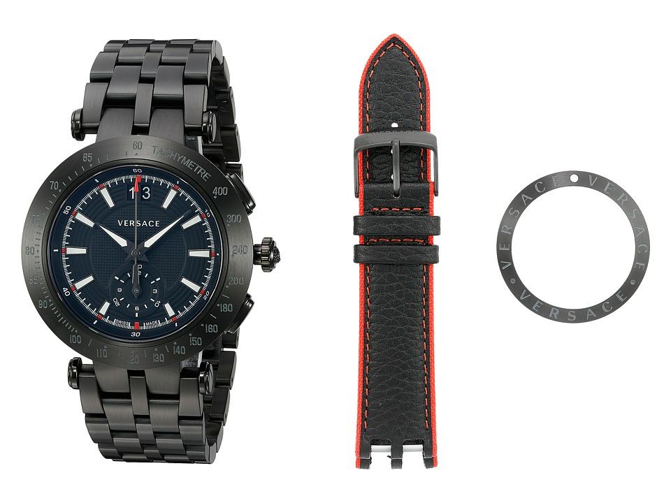 Versace V Race Sport VAH04 0016 Blue/Black Watches