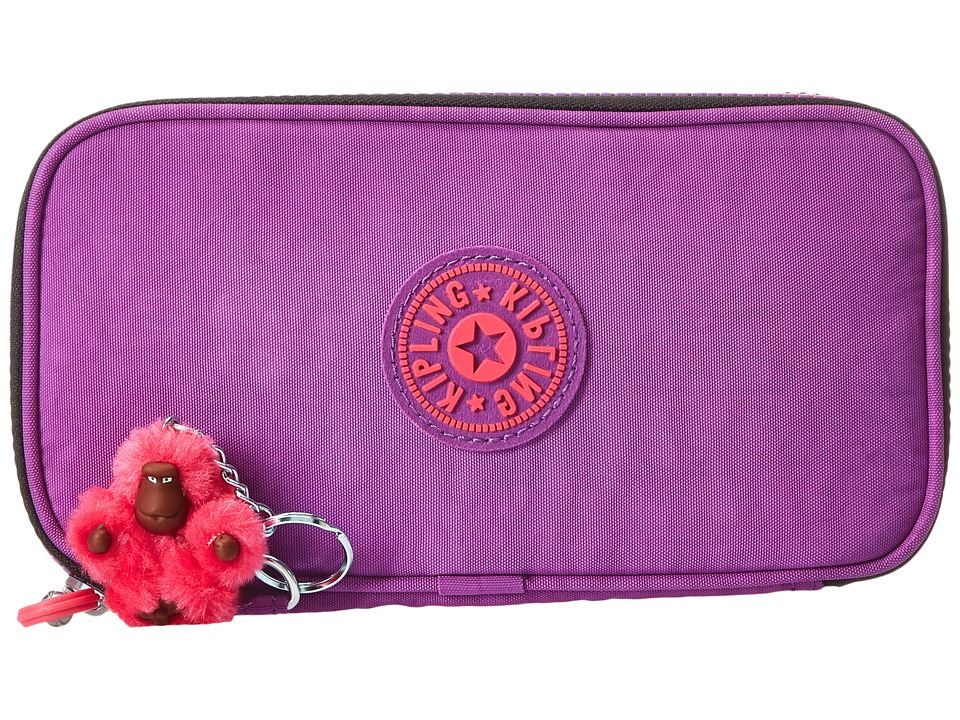 Kipling - Kay Pencil Case (Violet Purple) Wallet