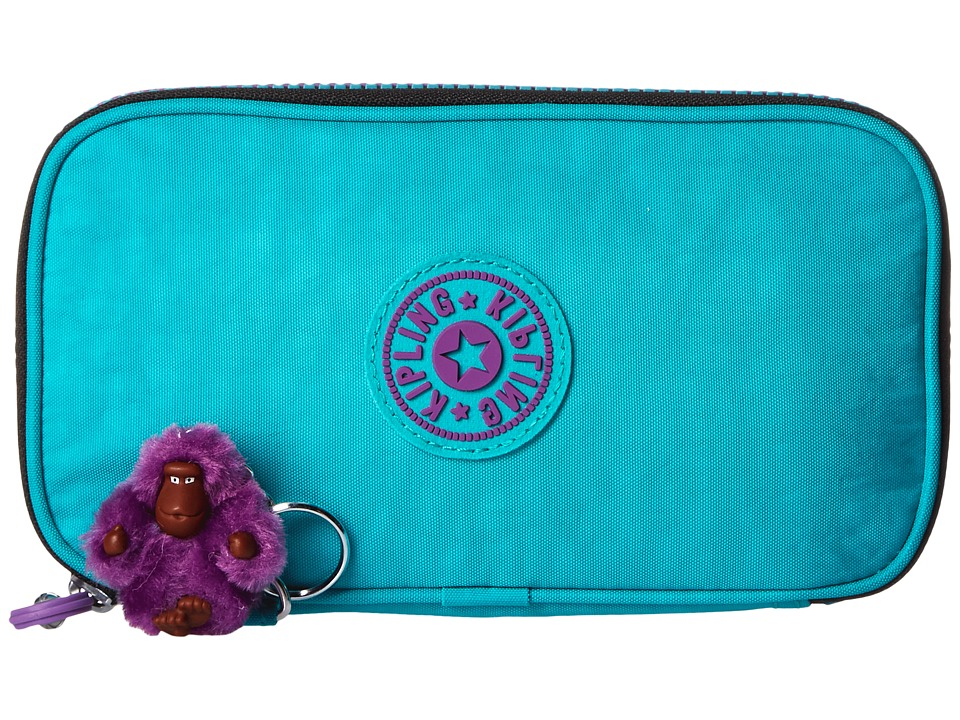 Kipling - Kay Pencil Case (Cool Turquoise) Wallet