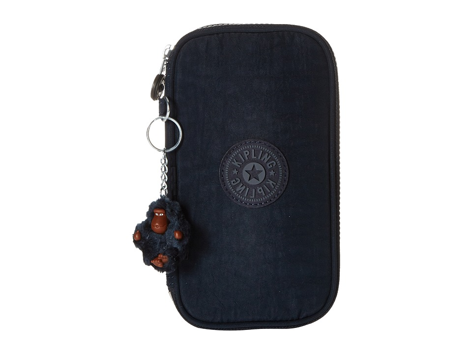 Kipling - Kay Pencil Case (True Blue) Wallet