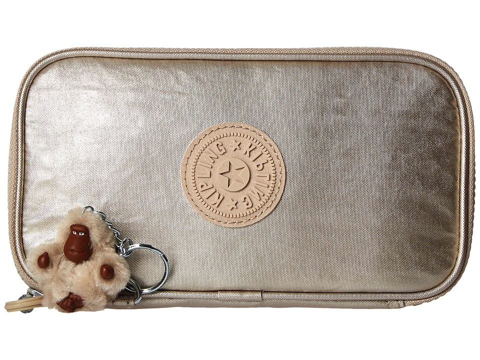 Kipling - Kay Pencil Case (Gleaming Gold) Wallet