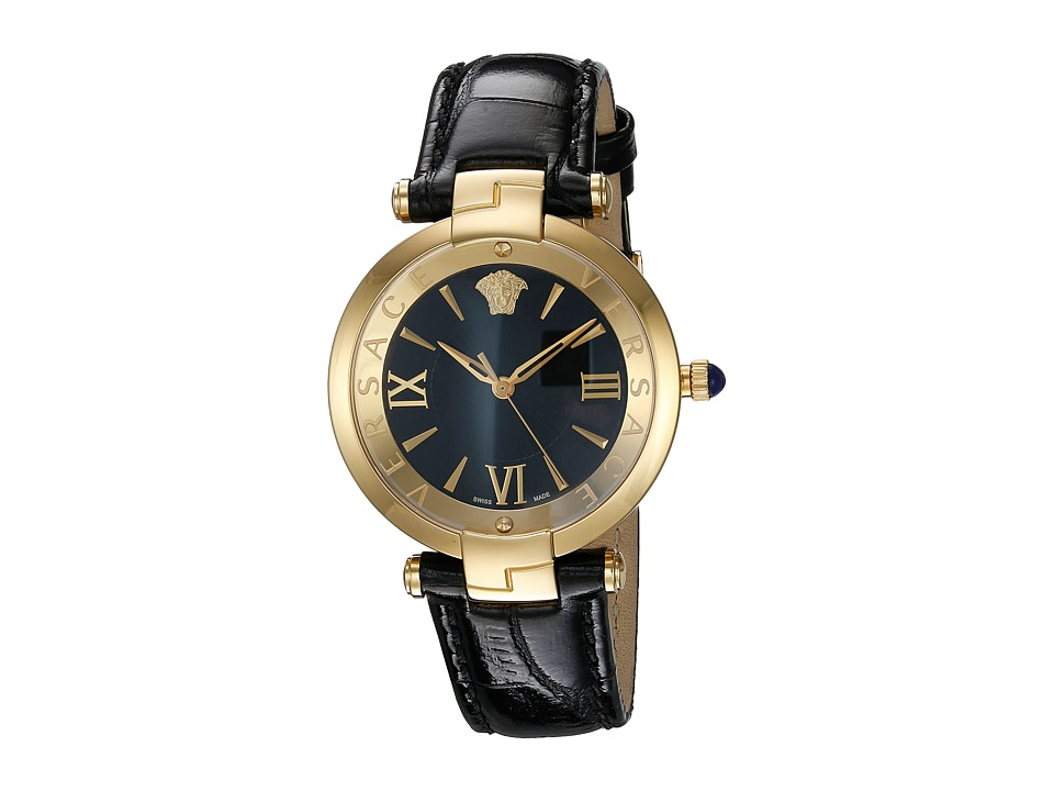 Versace Reve 3H VAI02 0016 Blue/Yellow/Gold/Black Watches