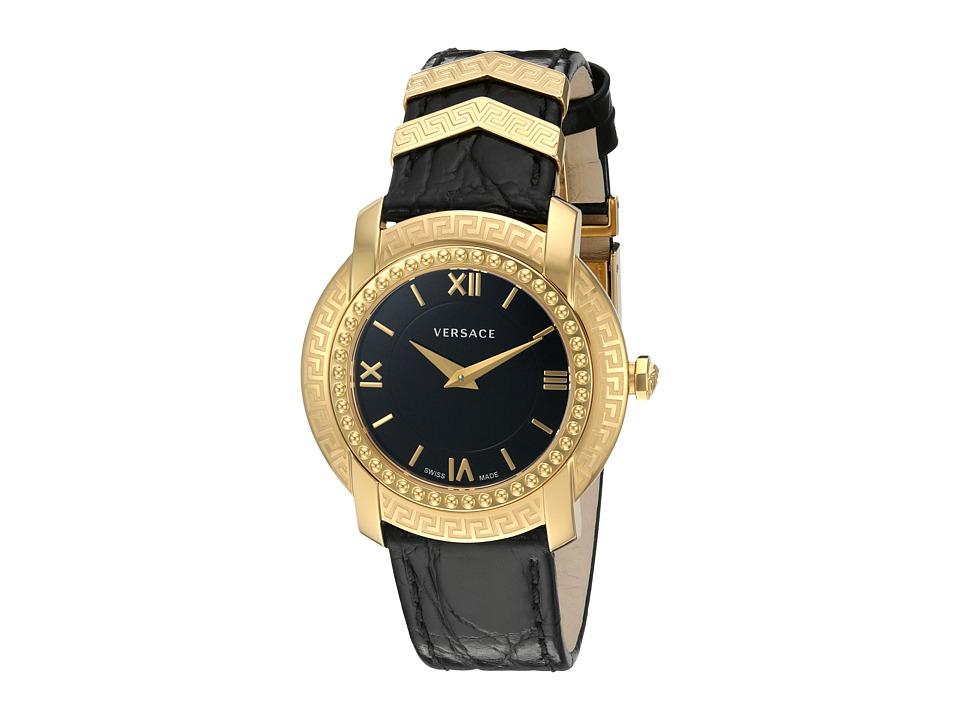 Versace DV25 Round Lady VAM03 0016 Blue/Yellow/Gold/Black Watches