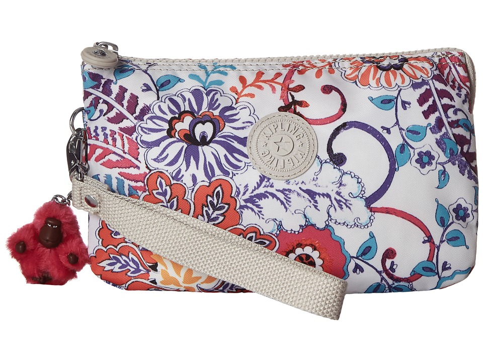 Kipling - Creativity XL Printed Pouch (Summer Dream) Clutch Handbags