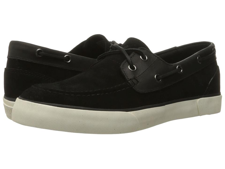 Polo Ralph Lauren Rylander (Black/Black Sport Suede/Smooth Oil Leather) Men