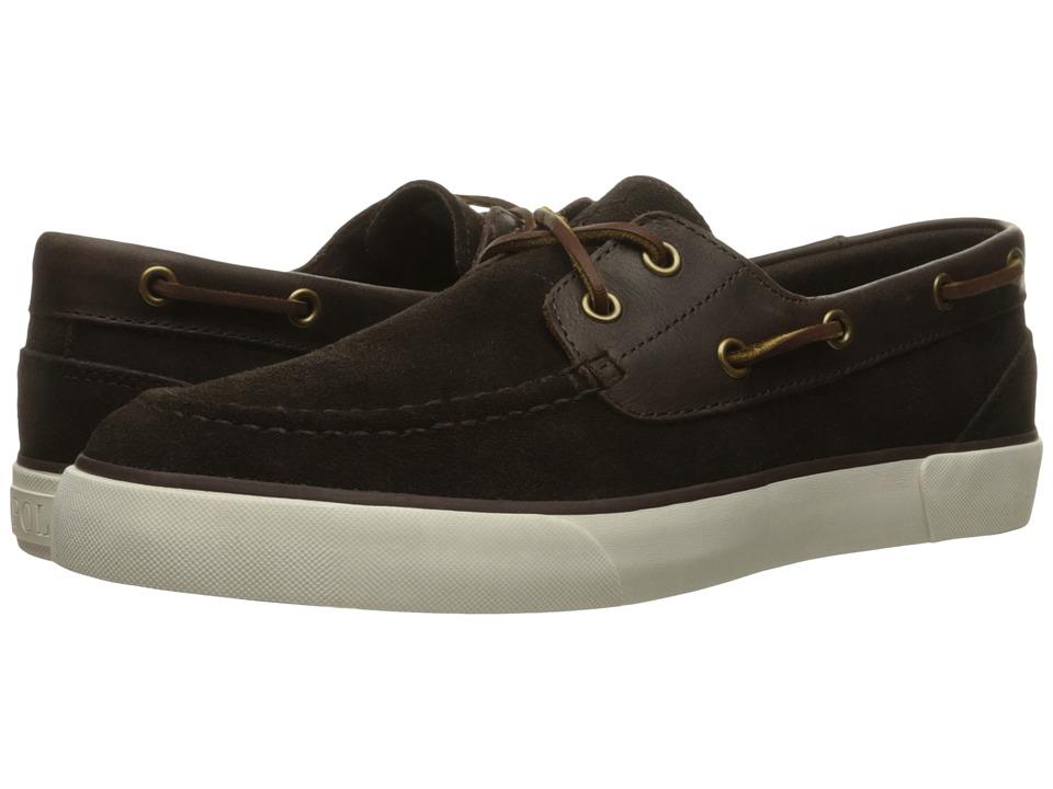 Polo Ralph Lauren Rylander (Dark Brown/Dark Brown Sport Suede/Smooth Oil Leather) Men