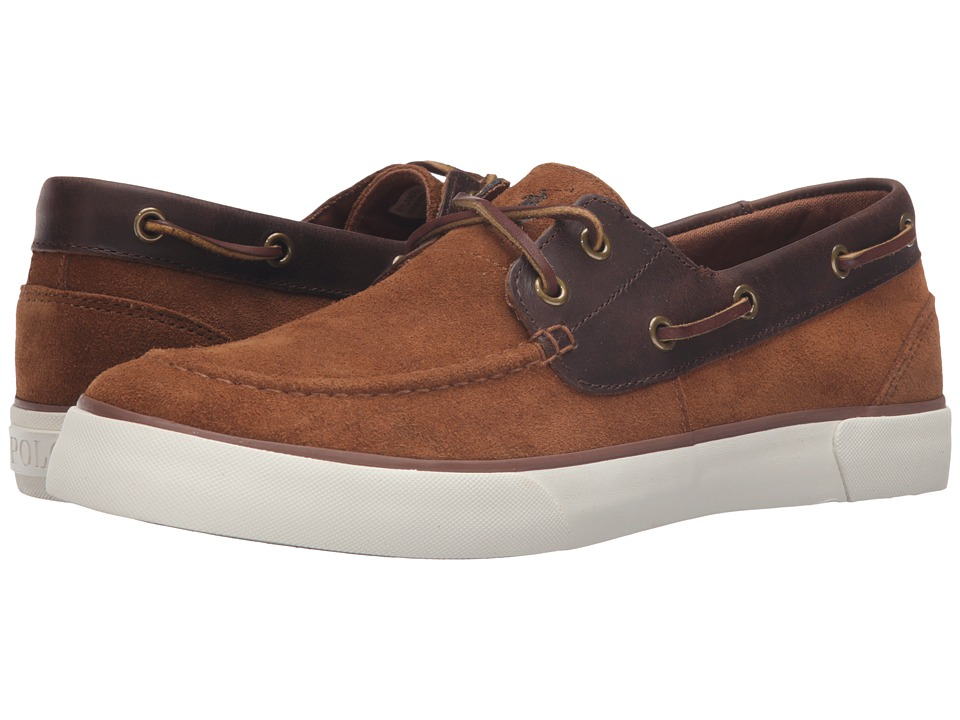 Polo Ralph Lauren Rylander (New Snuff/Tan Sport Suede/Smooth Oil Leather) Men