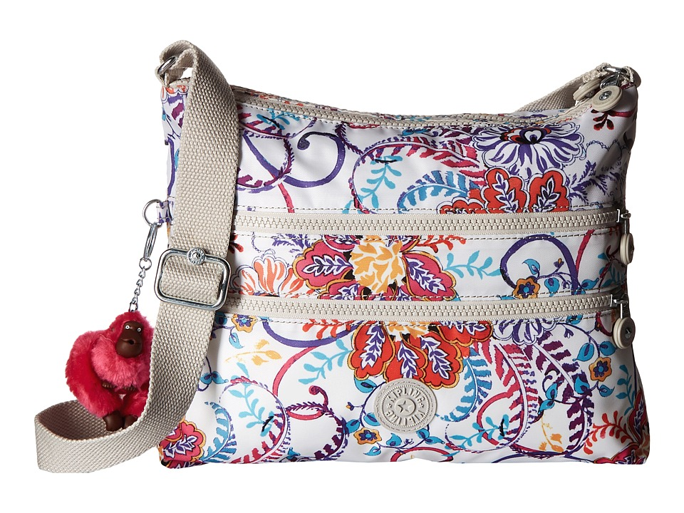 Kipling - Alvar Crossbody Bag (Summer Dream) Cross Body Handbags