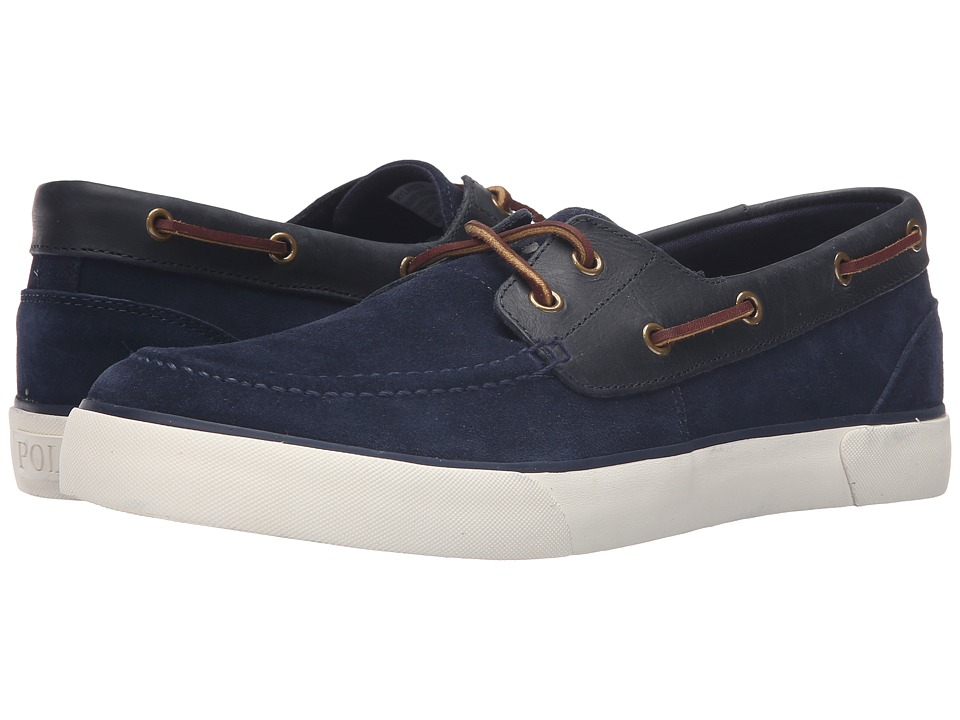 Polo Ralph Lauren Rylander (Newport Navy/Newport Navy Sport Suede/Smooth Oil Leather) Men