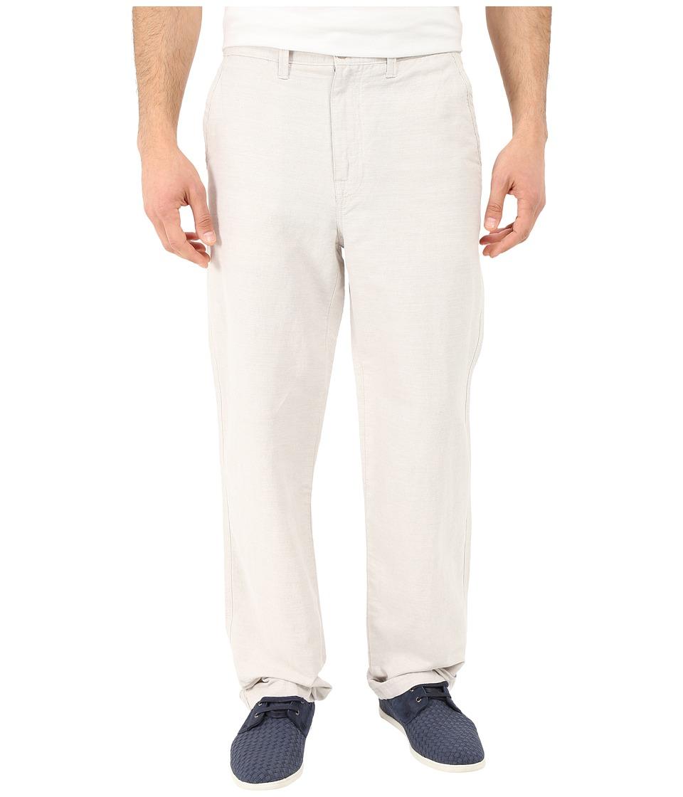 Nautica Linen Cotton Pants Wheat Flax Mens Clothing