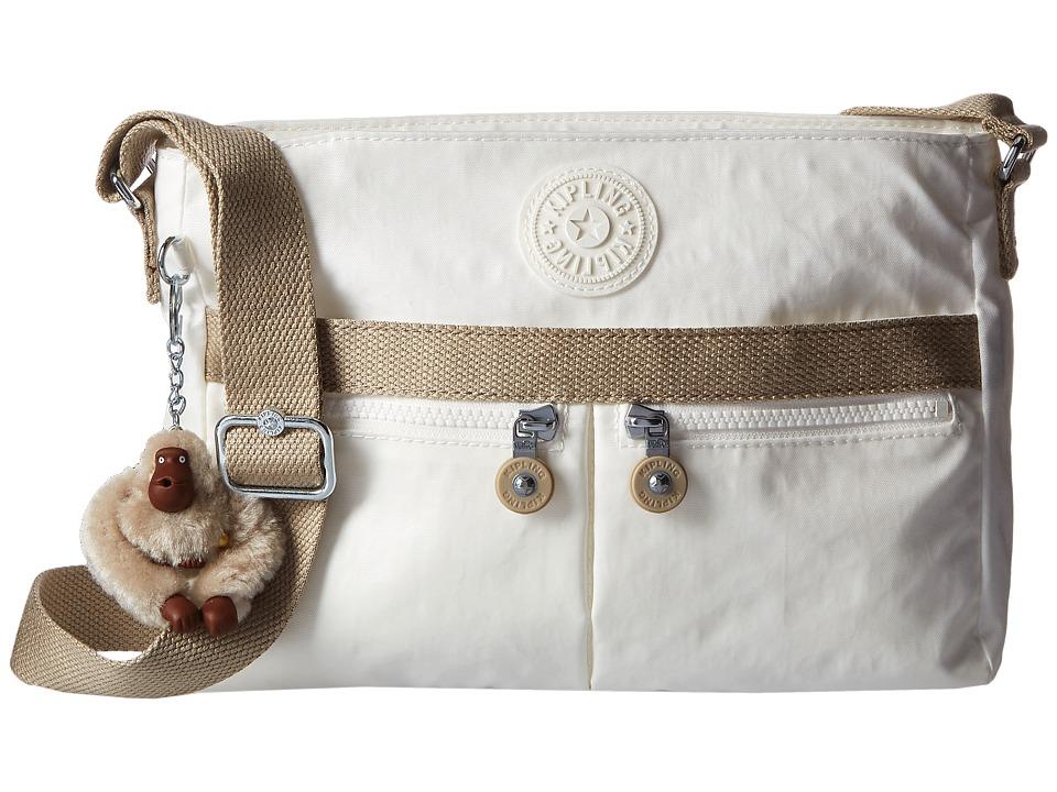 Kipling - Angie (Laquer Pearl Combo) Handbags