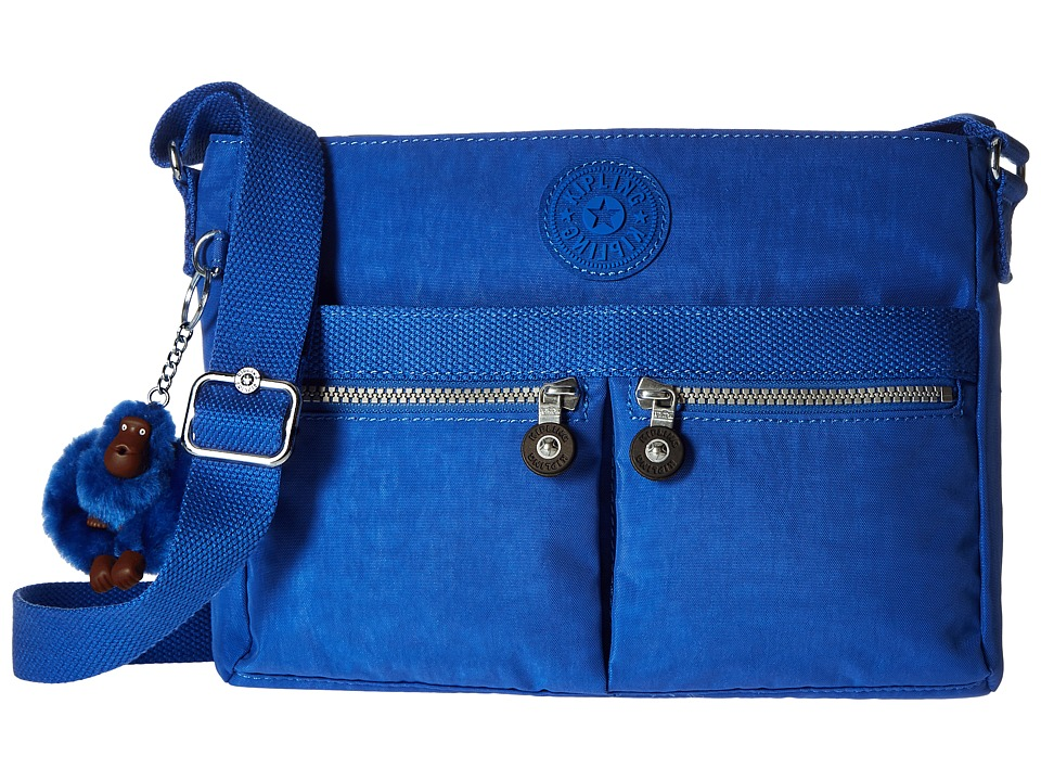 Kipling Angie Sailor Blue Handbags