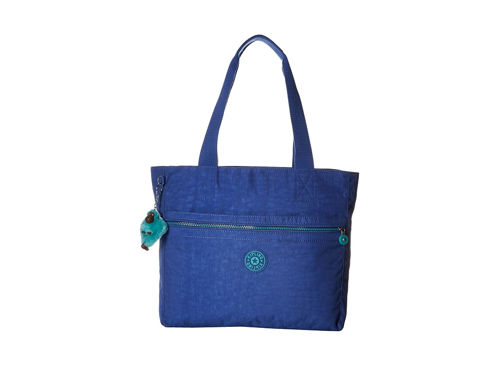 Kipling Brienne Tote Printed Sailor Blue Tote Handbags