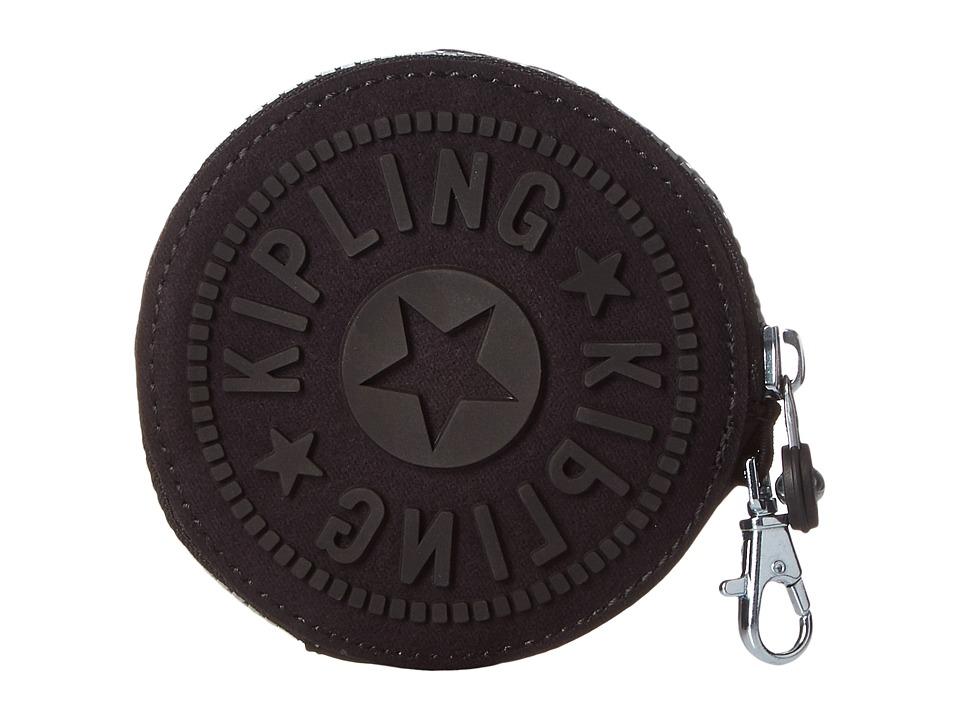 Kipling Marguerite Coin Case Black Wallet