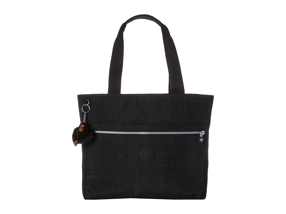 Kipling Brienne Tote Printed Black Tote Handbags