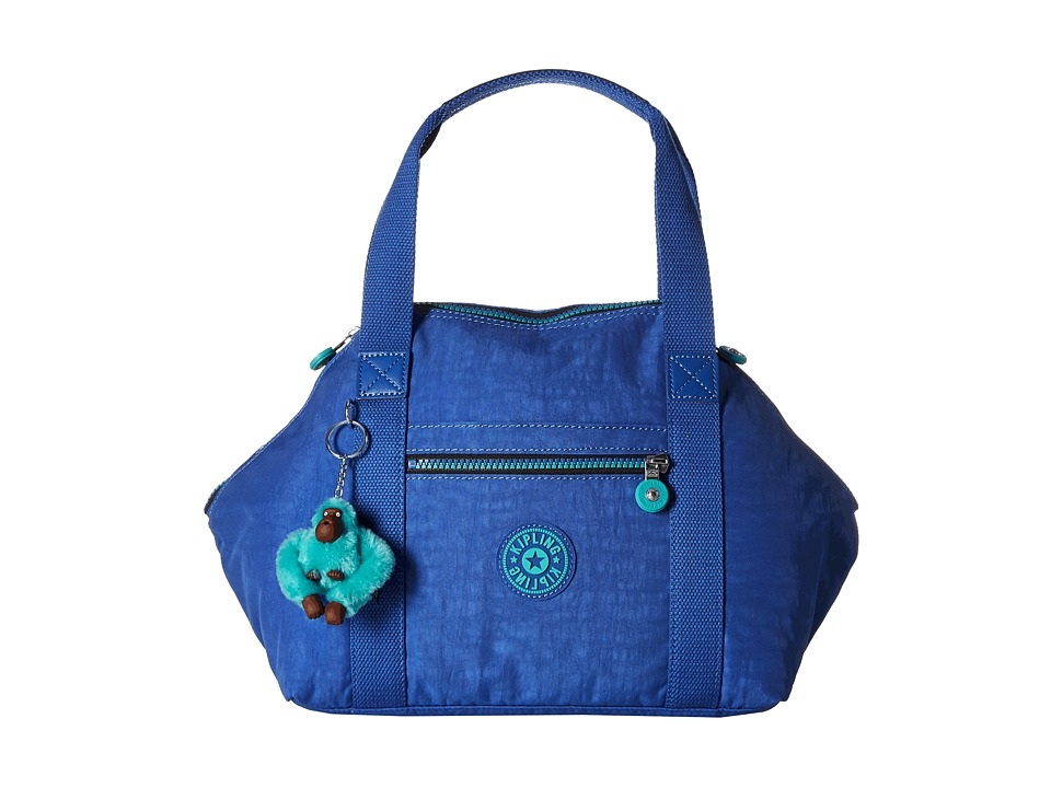 Kipling Art Satchel Sailor Blue Satchel Handbags