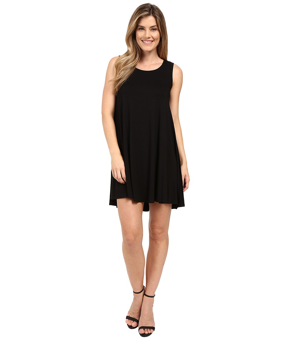 Karen Kane Sleeveless Maggie Trapeze Dress Black Womens Dress