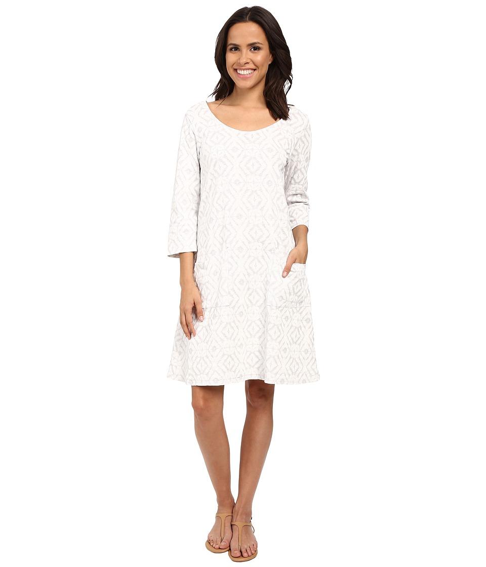 Fresh Produce Shibori Dalia Dress Vapor Grey Womens Dress